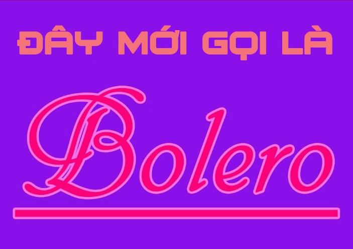 Bolero nghĩa là gì