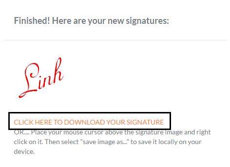 Tạo chữ ký đẹp