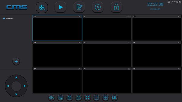 Giao diện phần mềm CMS Camera YooSee.