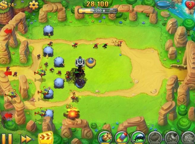 Game mobile Fieldrunners HD v1.18