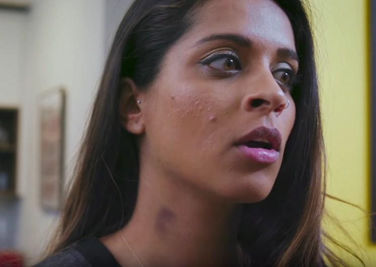 Hình hickey trên cổ