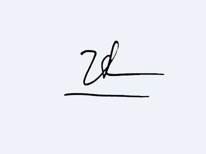 Mẫu chữ ký tên Hiền
