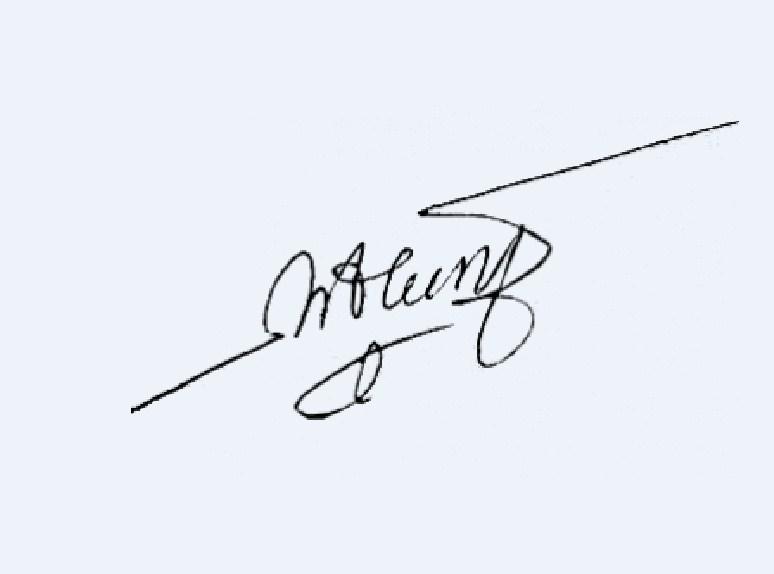 Chữ ký cho người tên Hương