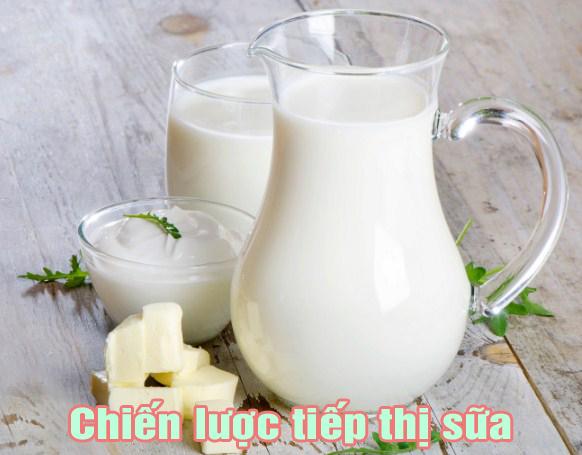 Chiến lược tiếp thị sữa là gì