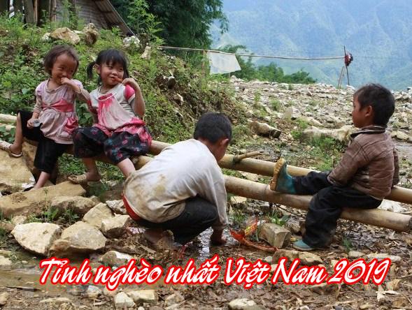 Top 5 tỉnh nghèo nhất Việt Nam