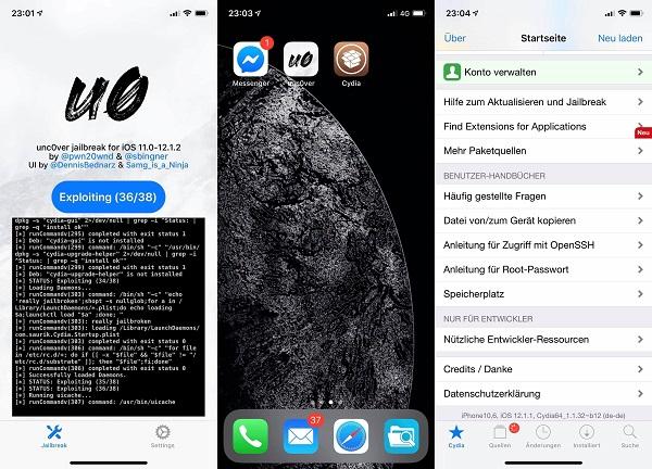 Jailbeak iOS 12