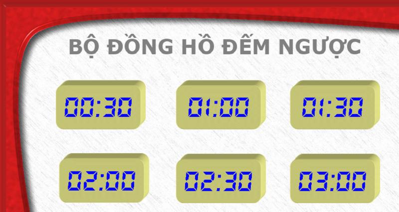 10 link download, tải mẫu đồng hồ đếm ngược chèn vào slide powerpoint