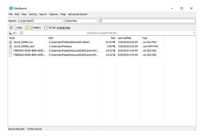 8 phần mềm tìm kiếm file, dữ liệu nhanh nhất trên windows