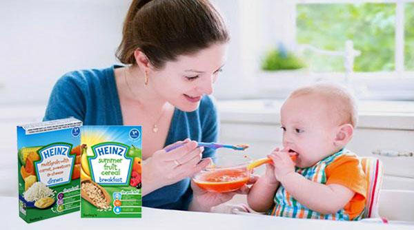 tổng hợp các loại bột ăn dặm cho trẻ 4 tháng tuổi tốt nhất