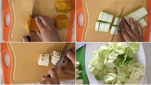 cách làm nước dashi rau củ cho bé 5 tháng tuổi ăn dặm kiểu nhật