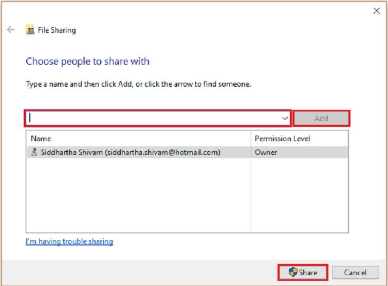hướng dẫn cách chia sẻ dữ liệu qua mạng lan win 10