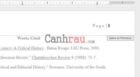 cách đánh số trang trong word 2016 theo ý muốn (cập nhật 2020)