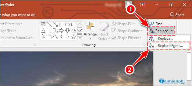 [taimienphi.vn] cách đặt font chữ mặc định trong powerpoint 2019, 2016, 2013, 2010, 20