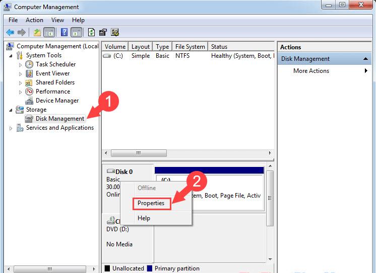 cách kiểm tra ổ cứng là gpt hay mbr chỉ với 2 thủ thuật đơn giản