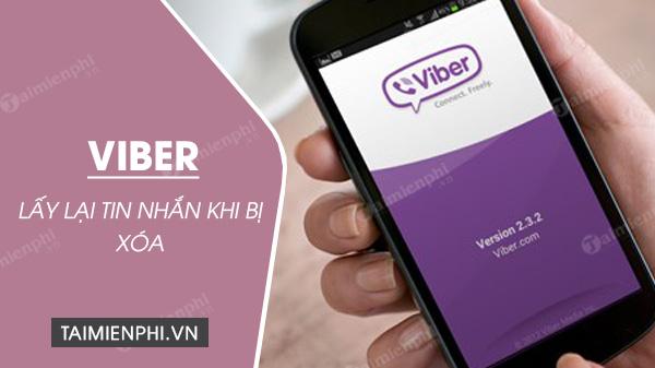 [taimienphi.vn] cách lấy lại tin nhắn viber khi bị xóa, chưa sao lưu