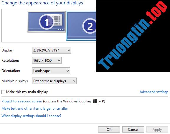 【1️⃣】 cách sử dụng 2 màn hình trên một máy tính - trường tín™