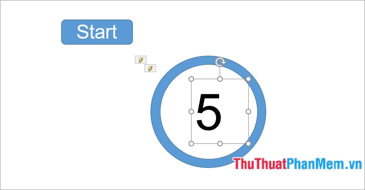 cách làm đồng hồ đếm ngược trong powerpoint