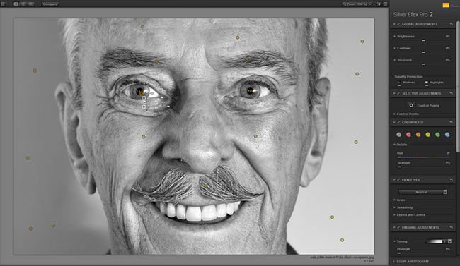 cách chuyển ảnh màu sang đen trắng photoshop