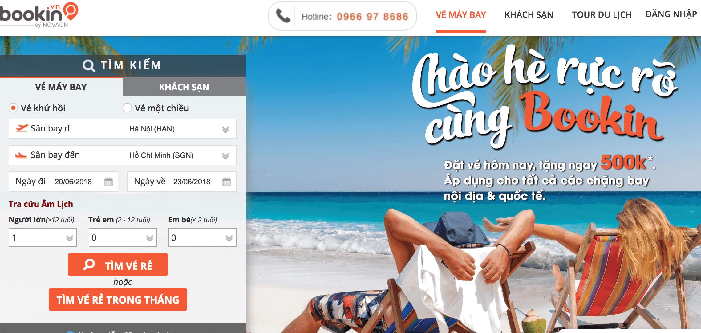 top 5 trang đặt phòng online không cần thẻ tín dụng