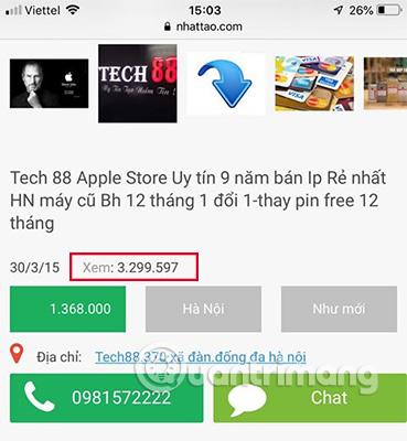 tổng hợp địa chỉ mua iphone cũ uy tín tại hà nội 2021
