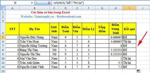 [taimienphi.vn] hàm cốt yếu excel, hàm thông dụng trong excel, sum, count, if, left, av
