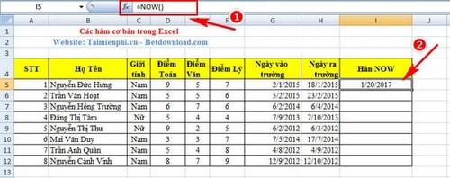 [taimienphi.vn] hàm chủ yếu excel, hàm thông dụng trong excel, sum, count, if, left, av