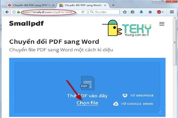 chuyển pdf sang word không lỗi font nhanh - gọn - dễ dàng!
