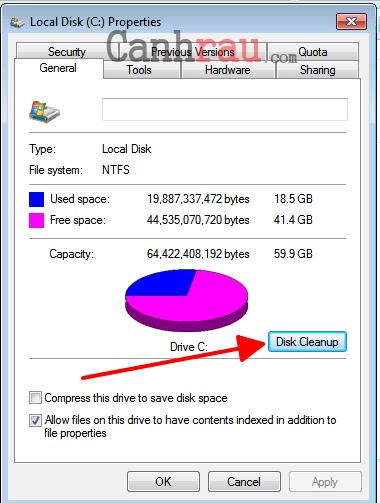 cách tối ưu hóa, tăng tốc windows 7 | canhrau.com