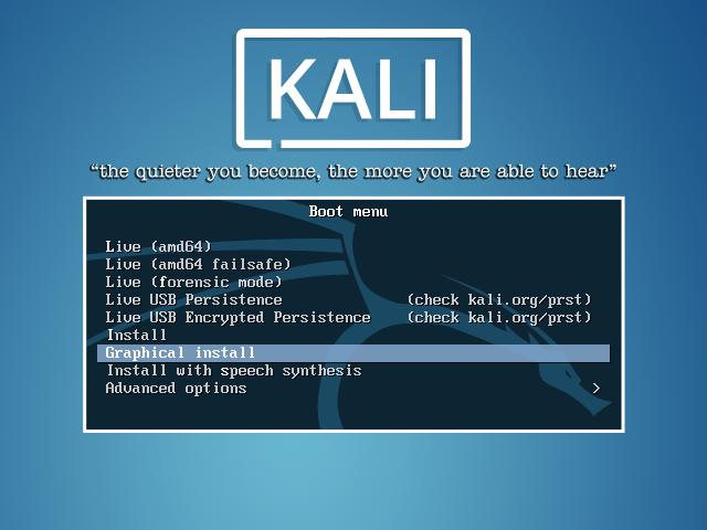 hướng dẫn cài Đặt kali linux trên Ổ cứng với usb boot chi tiết nhất