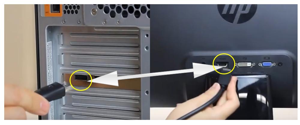 hướng dẫn cách kết nối 2 màn hình trên một máy tính