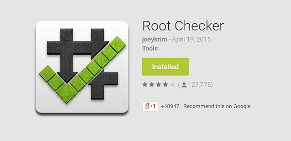 cách kiểm tra trạng thái root của android