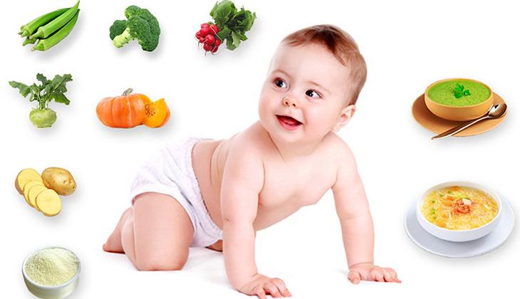 lịch ăn dặm cho bé 6 tháng tuổi theo khoa học mẹ tham khảo