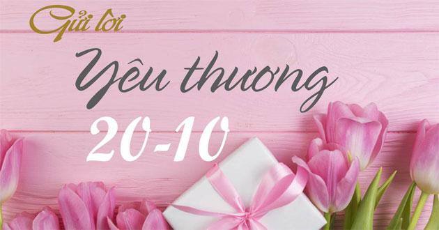 lời chúc 20/10 ngắn gọn ý nghĩa mừng ngày phụ nữ việt nam