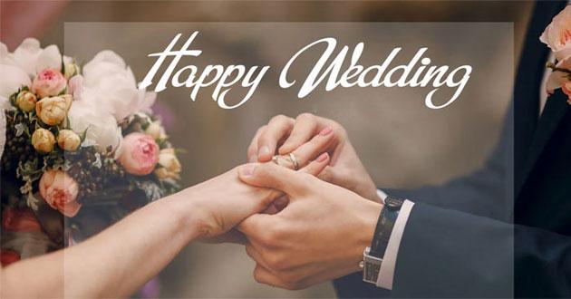 những câu chúc, lời chúc mừng đám cưới hay, ý nghĩa và độc đáo