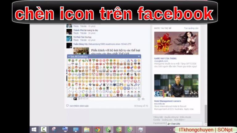 icon biểu tượng cảm xúc trên facebook