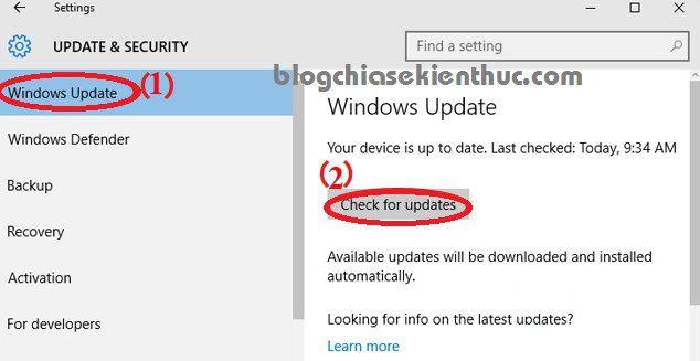 hướng dẫn nâng cấp lên windows 10 bản mới nhất, update win ! - blog chia sẻ kiến thức