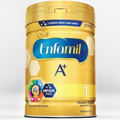 top 10 sữa cho trẻ sơ sinh tốt giúp bé tăng cân hiệu quả