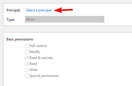 """sửa lỗi """"you need permission to perform this action"""" trong windows 10, 8.1 và 7"""