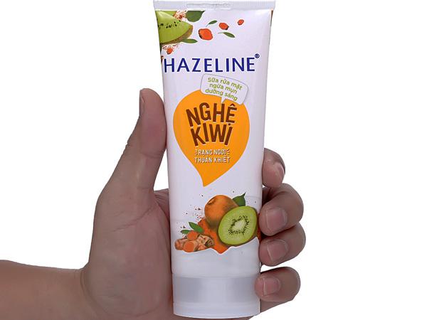 [review] sữa rửa mặt hazeline nghệ kiwi có tốt không? giá bao nhiêu?