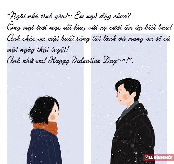 những tin nhắn valentine ngọt ngào, lãng mạn cho người yêu ngày lễ tình nhân