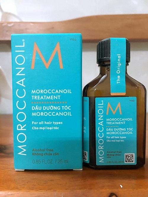 tinh dầu dưỡng tóc moroccan argan oil có tốt không? giá bao nhiêu?