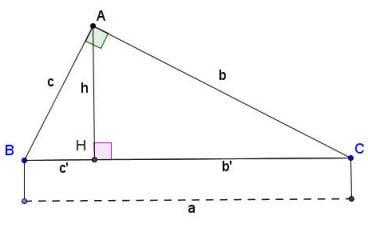 công thức tính đường cao trong tam giác thường, cân, đều, vuông