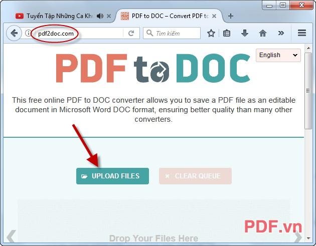 chuyển file pdf sang word online không bị lỗi font nhanh nhất
