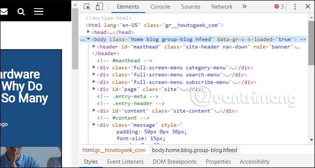 cách view source, xem mã nguồn trang web bằng điện thoại, máy tính