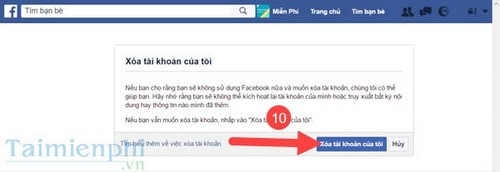 [taimienphi.vn] xóa tài khoản facebook trên máy tính, pc